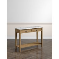 Albany Console Table with Marble Top