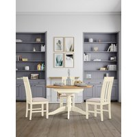 Padstow Round Extended Table Cream