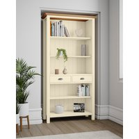 Padstow Bookcase Cream