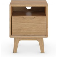 Nord Bedside Table brown