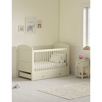 Hastings Ivory Cot Bed white