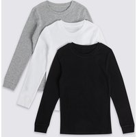 3 Pack Cotton Blend Thermal Vests (18 Months - 16 Years)