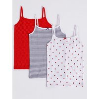 3 Pack Camisole With Stretch (18 Months - 12 Years)