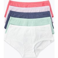 5 Pack Sparkle Shorts (6-16 Years)