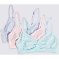 3 Pack Seamfree Cropped Tops (6-16 Years)