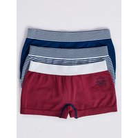 3 Pack Sports Shorts (6-16 Years)