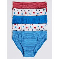 5 Pack Pure Cotton Briefs (1-8 Years)