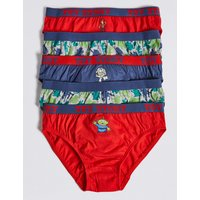 5 Pack Toy Story Briefs (18 Months - 8 Years)