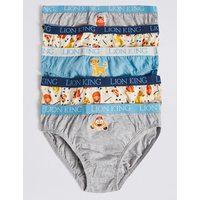 5 Pack Lion King Briefs (18 Months - 8 Years)