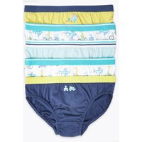 5 Pack Cotton Transport Briefs (18 Months - 8 Years)