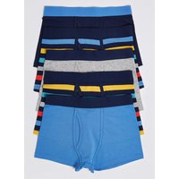 5 Pack Bold Stripe Trunks (18 Months - 16 Years)