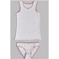 Autograph Pointelle Vest & Knickers Set (6-16 Years)