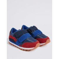 Kids' Suede Fashion Trainers (5 Small - 12 Small)