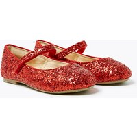 Kids' Freshfeet Glitter Mary Jane Pumps (5 Small - 12 Small)