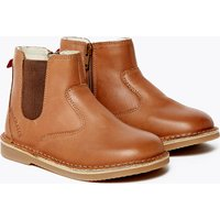 Kids' Walkmates Leather Zip Chelsea Boots (4 Small - 11 Small)