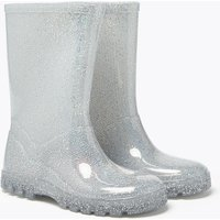 Kids' Silver Sparkle Wellies (5 Small - 12 Small)