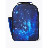 Kids' Space Water Repellent Lunch Box Bag black