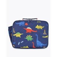 Kids' Dinosaur Print Lunch Box Bag navy