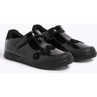 Kids' Leather T-Bar School Shoes (8 Small - 1 Large)+