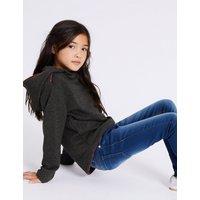 Cotton Blend Sweatshirt (3-16 Years)