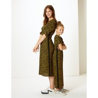 Leopard Jumpsuit (3-16 Years)