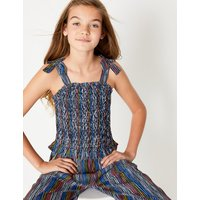 Striped Jumpsuit (6-16 Years)