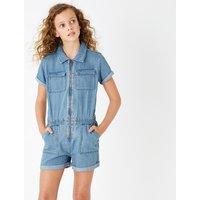 Denim Short Boilersuit (6-16 Years)