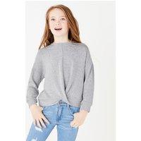 Twist Front Sweatshirt (6-16 Years)
