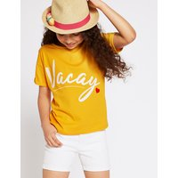 Pure Cotton Vacay T-Shirt (3-16 Years)