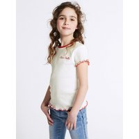 Cotton T-Shirt with Stretch (3-16 Years)