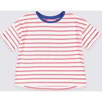 Easy Dressing Striped T-Shirt (1-16 Years)
