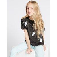 Cotton Rich Unicorn T-Shirt (3-16 Years)