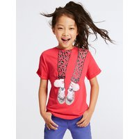 Pure Cotton Trainer Top (3-16 Years)