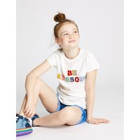 Pure Cotton Be Awesome T-Shirt (3-16 Years)