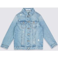 Pure Cotton Denim Jacket (3-16 Years)