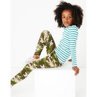 Camouflage Print Leggings (3-16 Years)