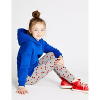 Cotton Cherry Leggings with Stretch (3-16 Years)
