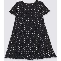 Spotted Dress (3-16 Years)