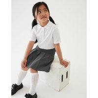 2 Pack Girls Pleated Skirts