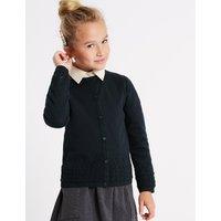 Girls' Pure Cotton Cardigan