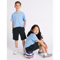 2 Pack Unisex Cotton Rich Shorts