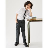 Boys Plus Fit Regular Leg Trousers