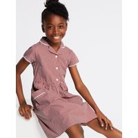 Girls Skin Kind Gingham Dress