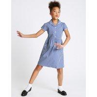 Girls' Easy Dressing Gingham Dress