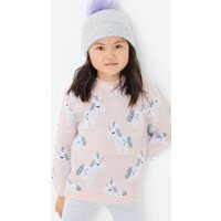Knitted Unicorn Print Jumper (3 Months - 7 Years)