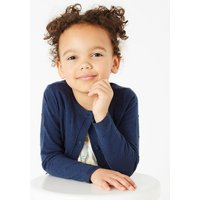 Cotton Rich Swiss Dot Cardigan (2-7 Years)