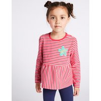 Striped Top with StayNEW (3 Months - 7 Years)