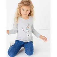 Disney Frozen 2 Olaf Cotton T-Shirt (2-10 Years)