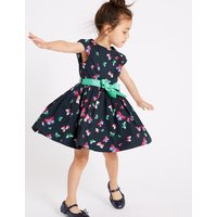 Butterfly Prom Dress with Belt (3 Months - 7 Years)