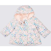 All Over Floral Print Coat